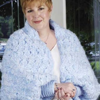 Crochet Shrug Pattern Bulky Yarn