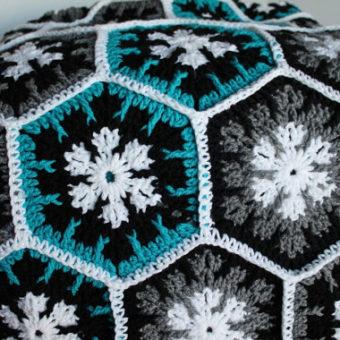 Crochet Snowflake Hexagon Pattern