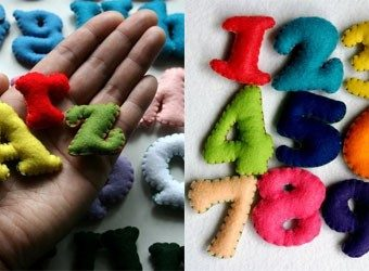 Crochet Stuffed Letters Pattern