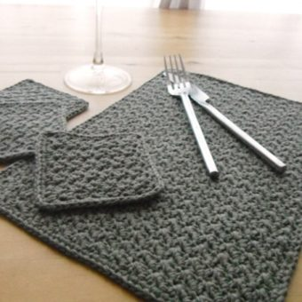 crochet placemat patterns free