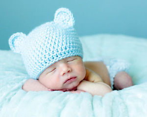 Newborn Bear Hat Crochet Pattern & Crochet Baby Bear Hat | 239x300