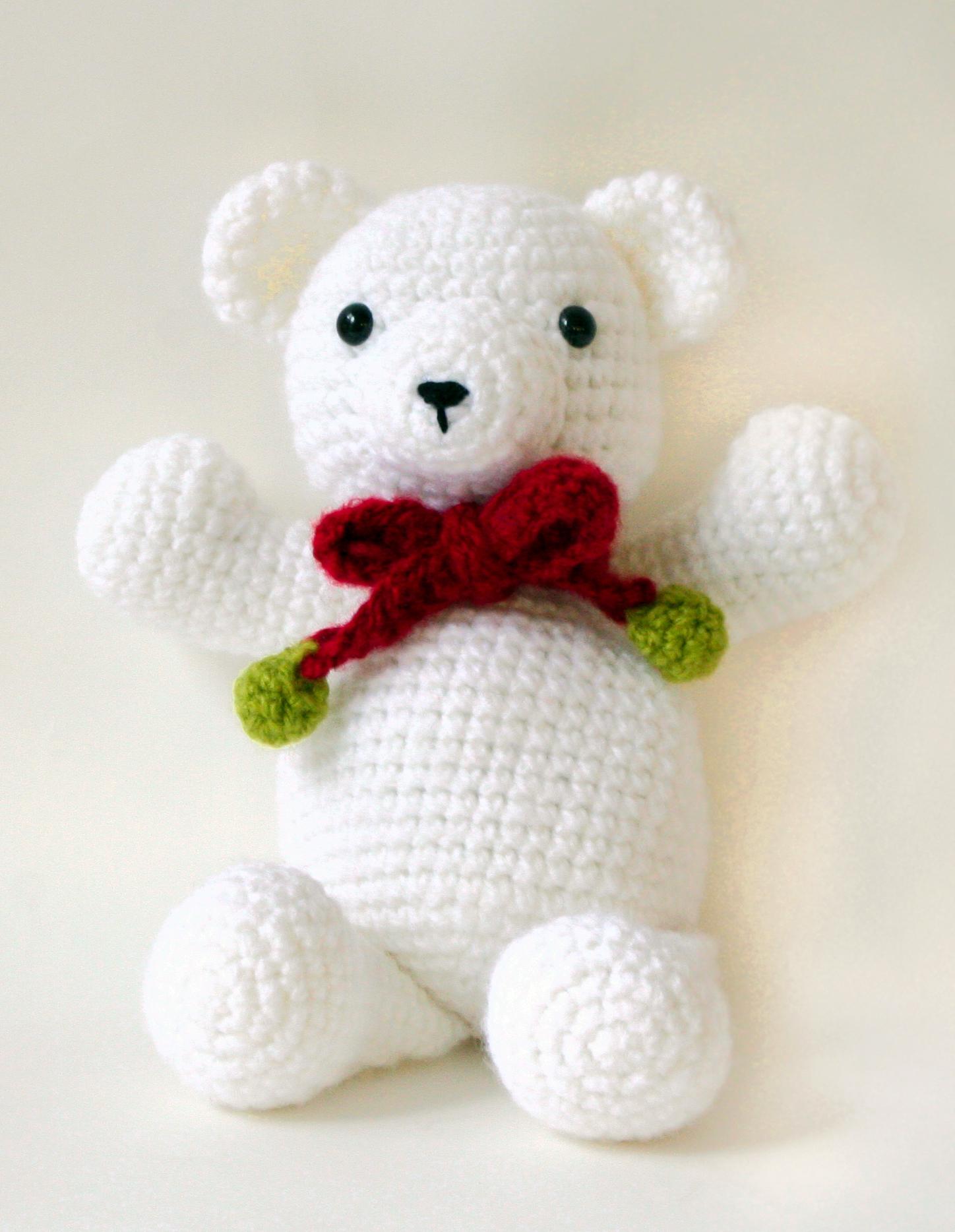 Free Teddy Bear crochet pattern - Amigurumi Today | 1868x1448