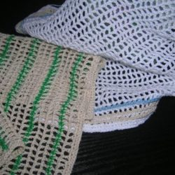 Crochet Thread Dishcloth Patterns