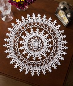 Crochet Thread Placemat Patterns