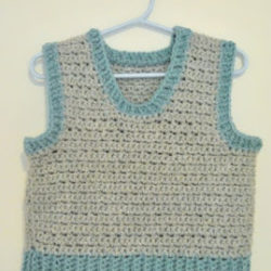 crochet vest pattern child