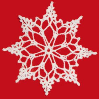 free threadcrochet snowflake patterns