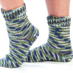 Crochet Socks Easy Pattern