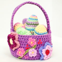 Flower Girl Basket Crochet Patterns