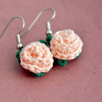 simple crochet earring patterns