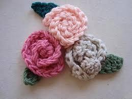 crochet a little rose