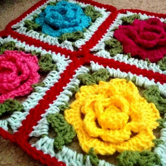 Crochet a RoseFlower: 33 Inspiring Patterns