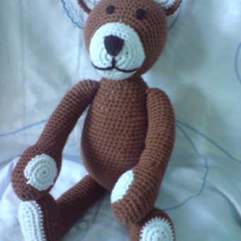 free large teddy bear crochet patterns