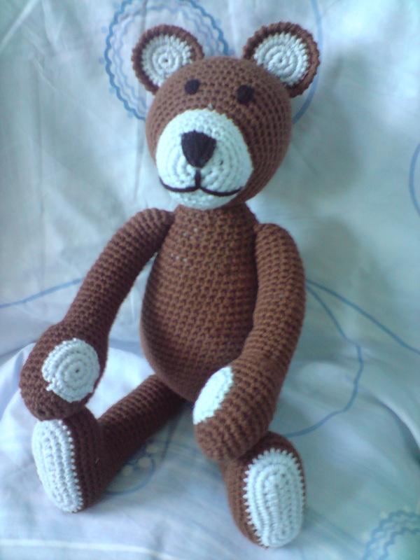 Crochet Teddy Bear Written Pattern and Video | 800x600
