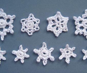 free minicrochet snowflake patterns