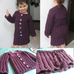 free pattern for crochet baby skirt