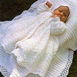 Crochet Christening Skirt