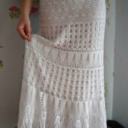free patterns for crochet maxi skirts