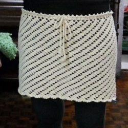 Pattern For Crochet Mini Skirt
