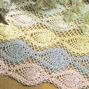 free pineapple crochet table runner patterns