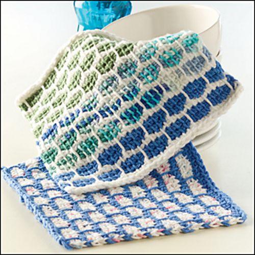 34 New Crochet Dishcloth Patterns For Free Patterns Hub