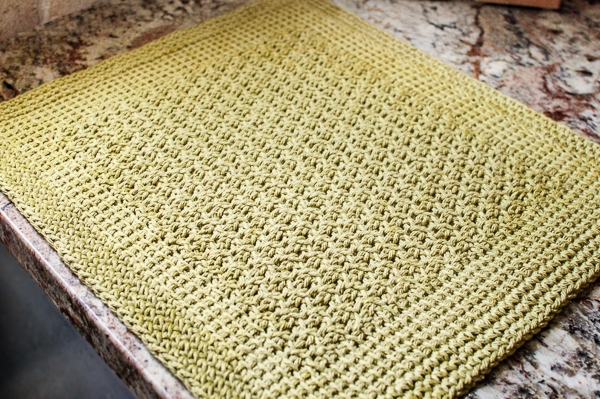 Looking To Crochet A Placemat Pattern 21 Simple