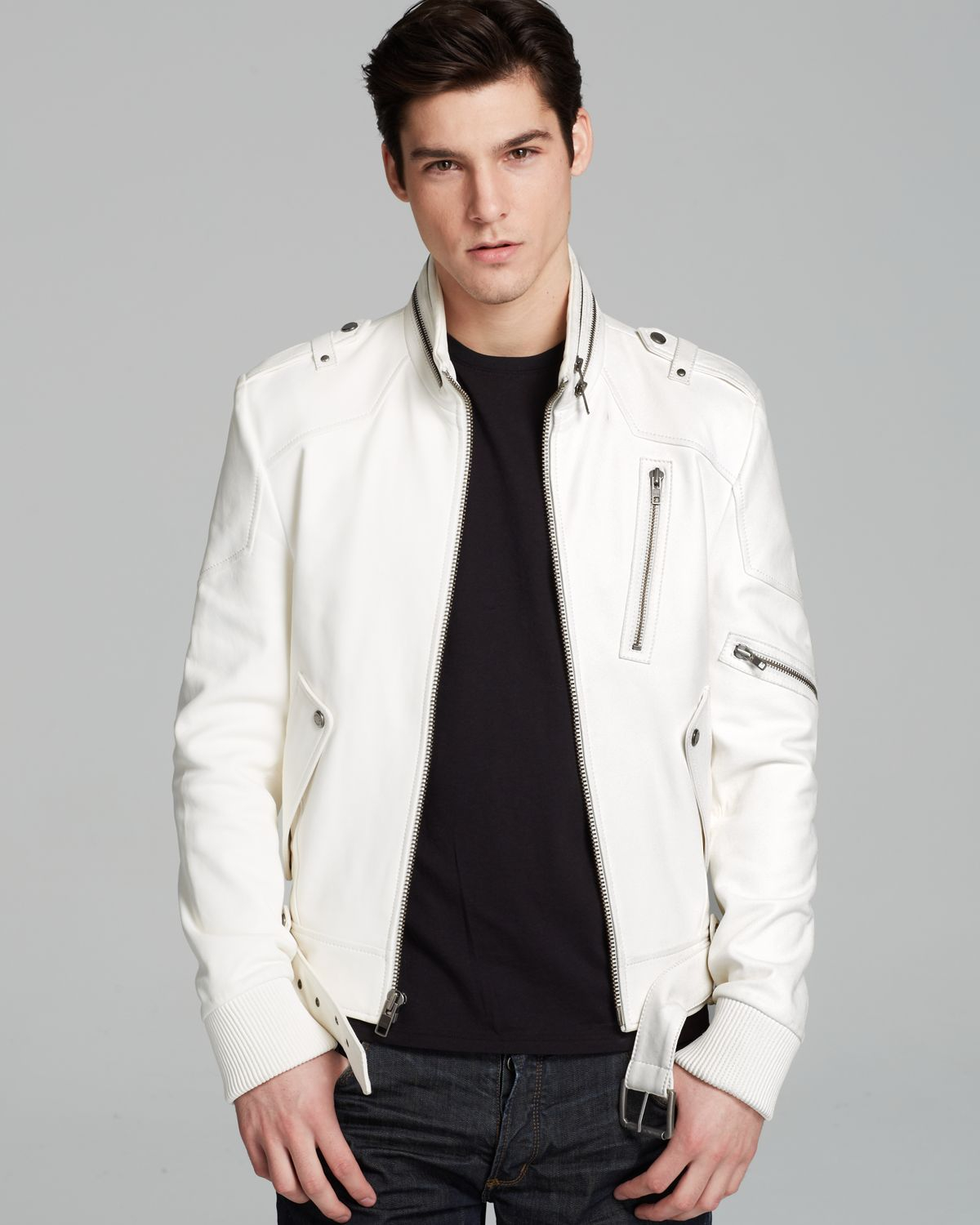White Leather Jacket: How to Use