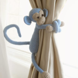 Monkey Curtain Tie Back