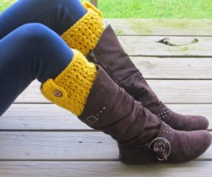 Bailey Boot Cuffs Crochet Pattern