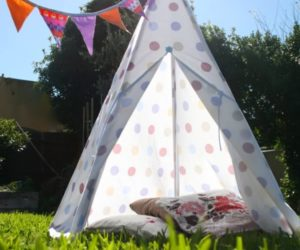 DIY Teepee with Porch
