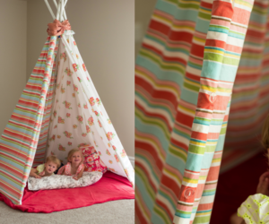 Children's DIY Teepee