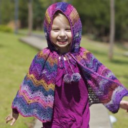 crochet poncho patterns for free