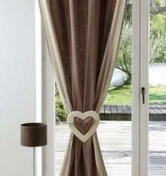 Contemporary Curtain Tie Back