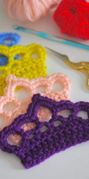 Crochet Crown Appliques