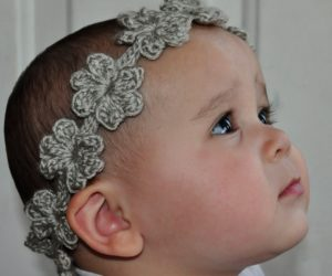 Crochet Crown in Floral Designs