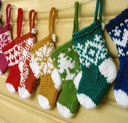 crochet christmas stocking mini