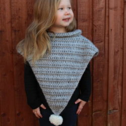 free infant crochet poncho patterns
