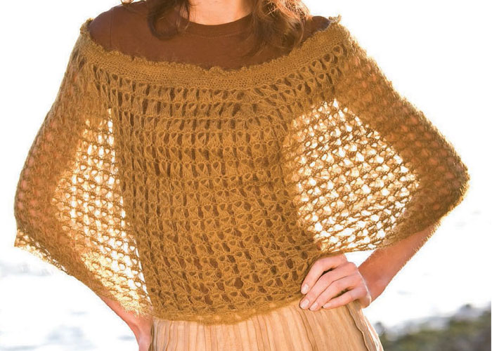 Free Pattern Easy Crochet Poncho : 37 Creative Crochet Poncho Patterns For You - Patterns Hub