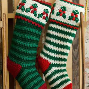 40 All FreeCrochet Christmas StockingPatterns