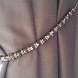 Crystal Curtain Tie Back