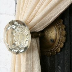 Curtain Tie Back Knob