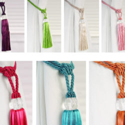 Curtain Tie Back Step By Step