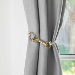 Curtain Tie Back Instructions
