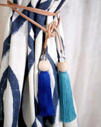 Rope Tassel Curtain Tie Back