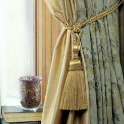 diy curtain tie back ideas