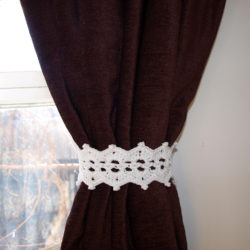 Fabric Curtain Tie Back