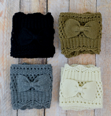 Free Crochet Pattern for Boot Cuffs