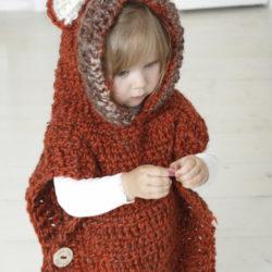 Baby Poncho Crochet Pattern