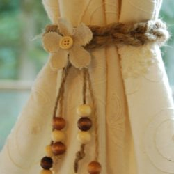 Jute Curtain Tie Back