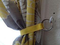 Key Ring Curtain Tie Back
