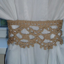 Modern Curtain Tie Back